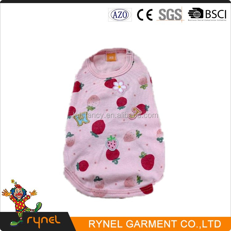 PGPC0235 Wholesale Pet Dogs Accessories Lovable Simply Female Simply XXX Small Dog Clothes