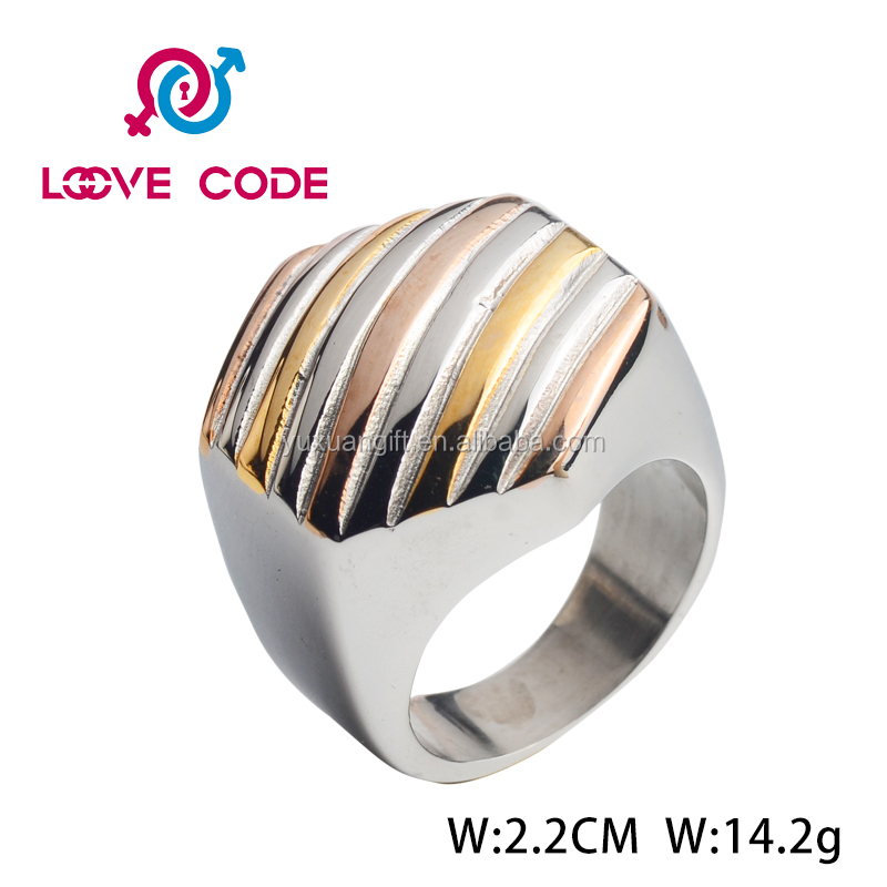Hot sale stainless steel index finger rings