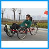 Seat Adjustable 3 Wheels Recumbent Trike For Sale