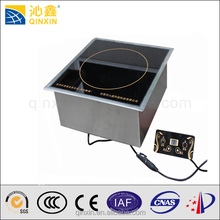 Hot sale Electric commercial stainless steel induction and halogen cooker