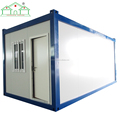 Solar energy flat pack container house shop for sale
