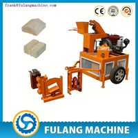 FL1-20 earth brick press/ concrete block making/ interlock brick machine price