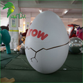 Customizable Balloon Type Egg Inflatable , Inflatable Crack Egg Shaped For Decoration