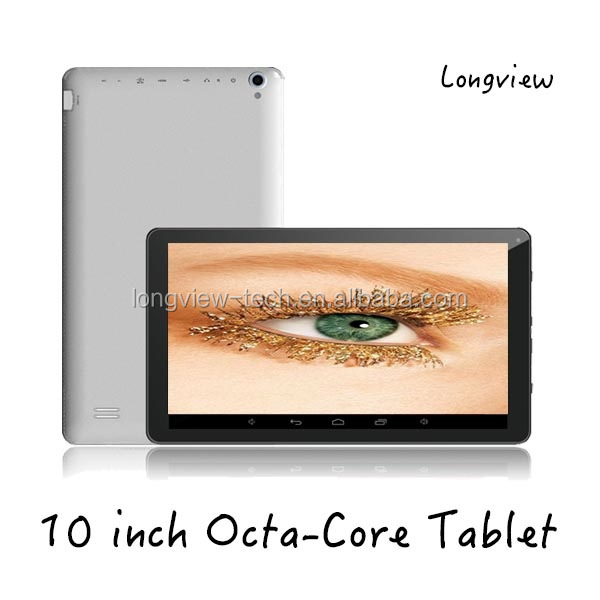 New Android4.4 Octa-core 1GB/16GB tablet PC 10 inch with WIFI bluetooth front/rear cameras