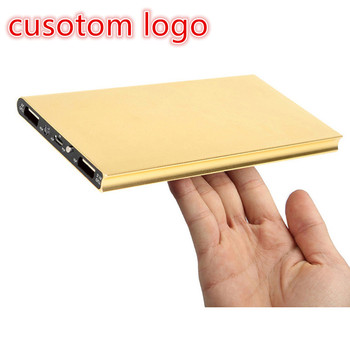 private label accepted slim 10000mah to 20000 mah portable mobile phone power bank custom logo