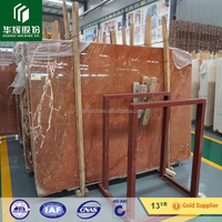 Polished Rojo alicante Red Marble Exterior& Interior Marble