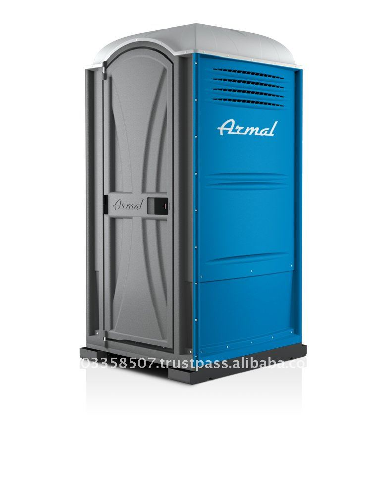 USA Armal Blue Western Style Chemical Portable Toilet