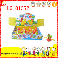 Interesting plastic cute 12pcs wind up chicks gift toy for children