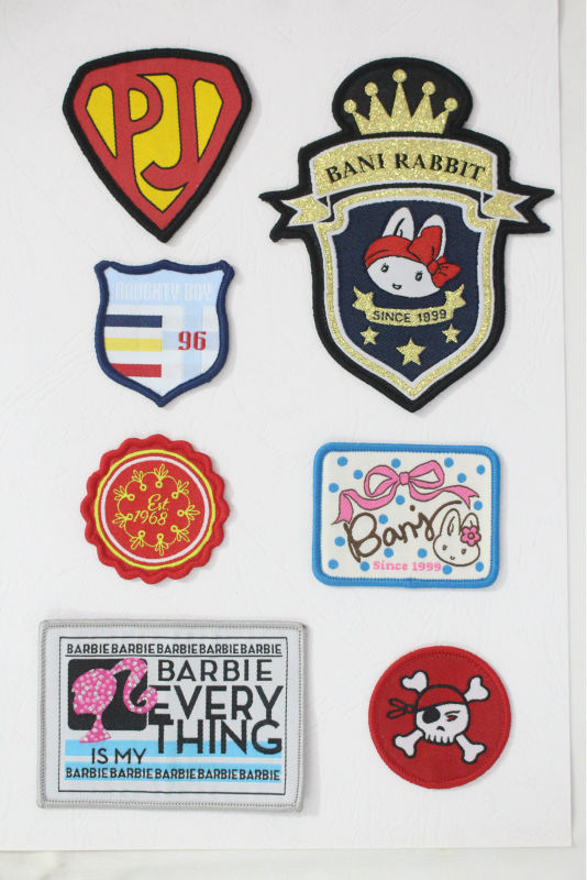 China factory embroidery custom patch woven patch