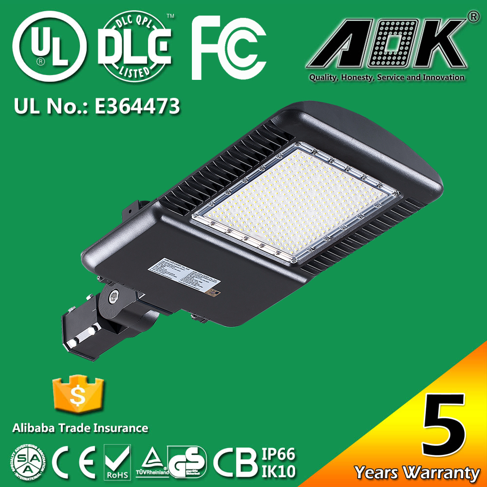 High quality outdoor IP65 110W LED Shoebox Light Equal to 400W Metal Halide