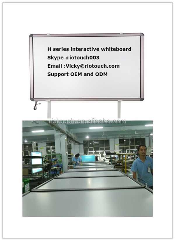 2014 riotuch hot sales interactive education Whiteboard solutions from factory - Whiteboard semi-finished product for school