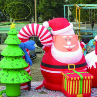 2015 christmas Inflatable advertising ideas