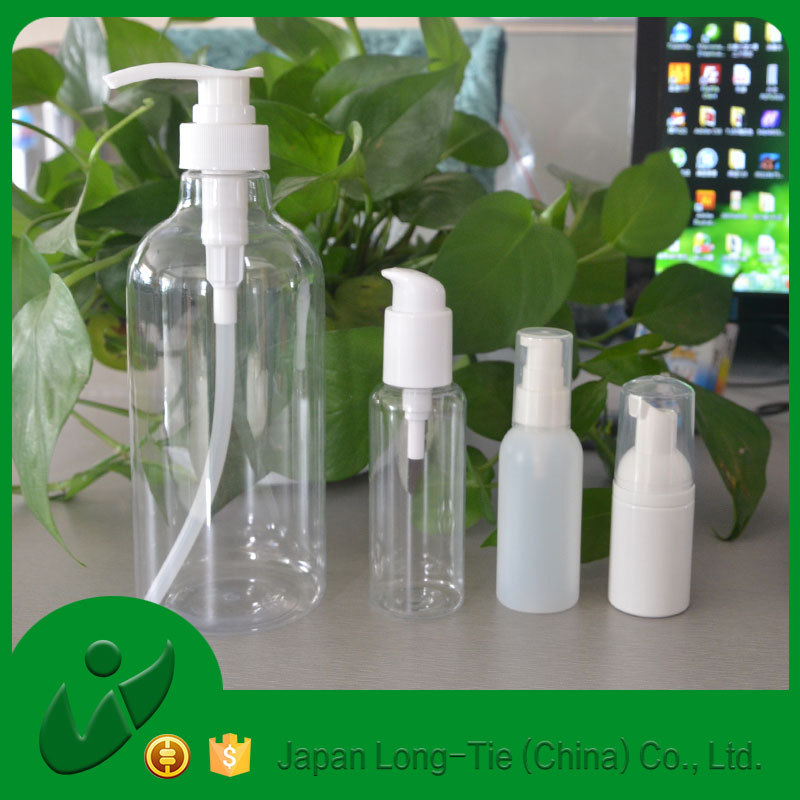 500ml plastic bottle and pump bottle