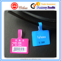 Custom printed Reliable quality glasses adhesive paper price tag with best price