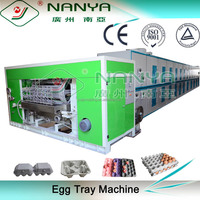 Recycled waste paper egg tray machine with multi-layer drying line