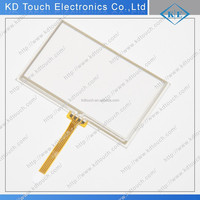 10.4inch 4wire EBG overlay resistive touchscreen panel glass