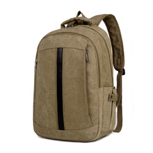 Quanzhou hot selling wholesale fashion leisure canvas backpacks