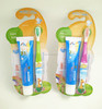 kid toothbrush and toothpaste set