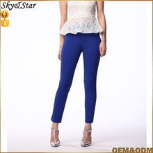 OEM manufacturer women pants ladies office tight trousers