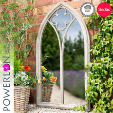 Wrought Iron Church Window Garden Mirrors
