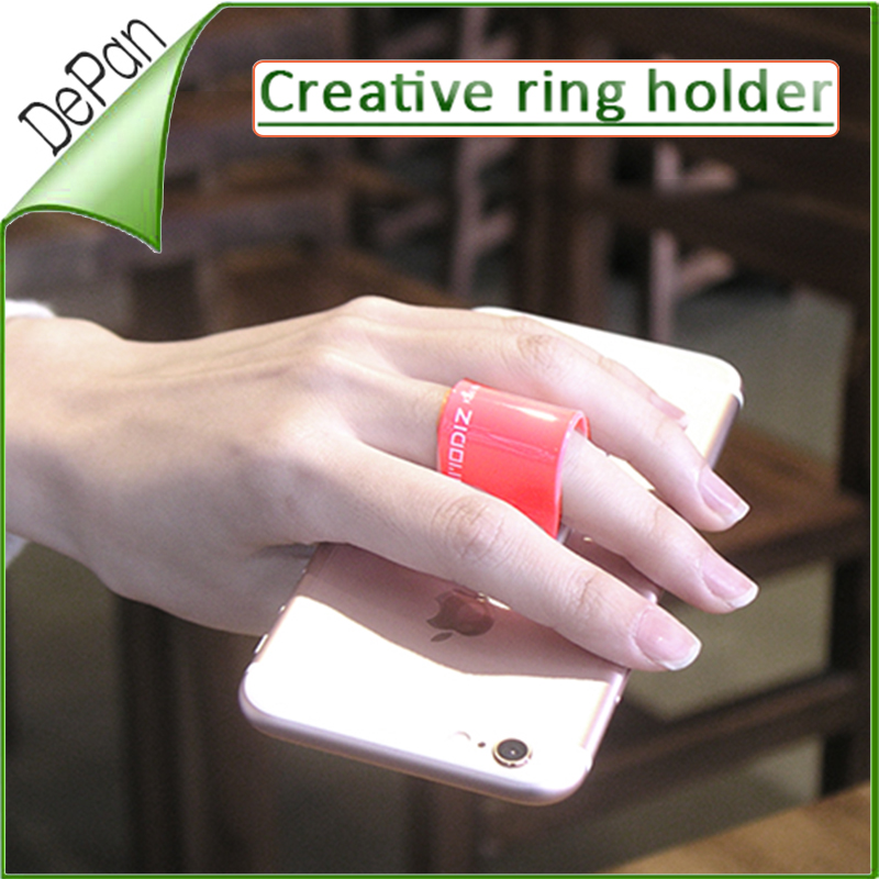 2016 Trending Products finger grip sticky mobile phone stand for smart phone