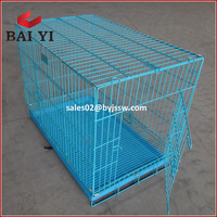 Double Door Collapsible Metal Cage For Pet