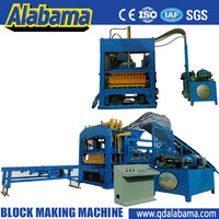 20 years experience save wear and tear cheap price concrete brick making machine