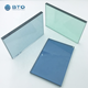 12.76mm euro grey tinted color laminated tempered glass for large glass window