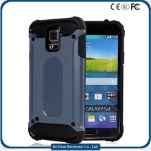 Rugged 2 in 1 Hybrid Shockproof Anti Scratch Cell Phone Covers Mobile Cases for Samsung Galaxy S5