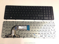 For HP Pavilion 15-E 15-N 15-e000 15-n000 15E 15N Series Laptop keyboard with frame US/UK/RU/FR/SP/LA version