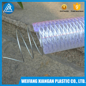 Wear resisting PVC steel wire reinforced hose for vacuum cleaner