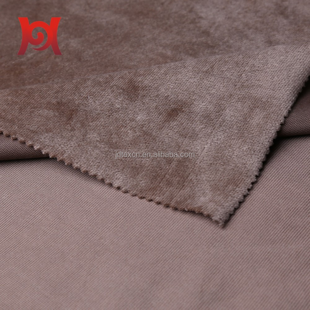 shoe lining fur textiles fabric,microfiber fleece ,soft feeling velour(velvet,velboa)