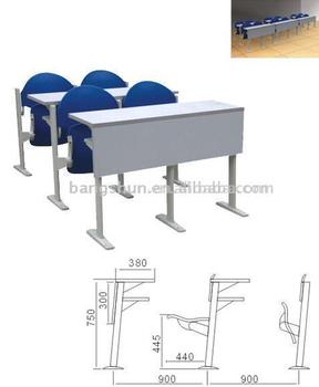 Campus Furniture school sets ,study classroom chair and desk