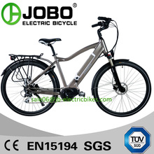 PAS System Bafang Mid Crank Motor Electric Variable Speed Bikes With Hidden Battery ( JB-TDA15L)
