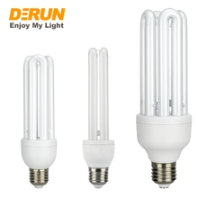 2u 3u 4u cfl bulb light glass raw materials tube parts SKD E27 B22 daylight economic energy saving lamp