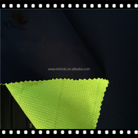 Customized waterproof spandex stretch fabric +TPU 3000/3000 +Plaid polar fleece for the north face /Upscared jacket fabric