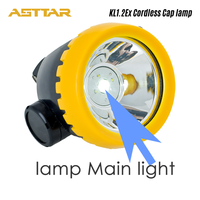 Gokang Rechargeable Cordless LED Miners Cap Lamp with Atex approval