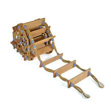 CCS approved embarkation adult wooden rope ladder