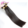 Hot sale unprocessed brazilian remy virgin human hair extension silky straight