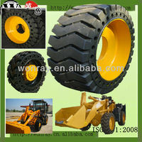 American qualified pneumatic solid loader otr tyre 23.5-25 for skid steer wheel loader