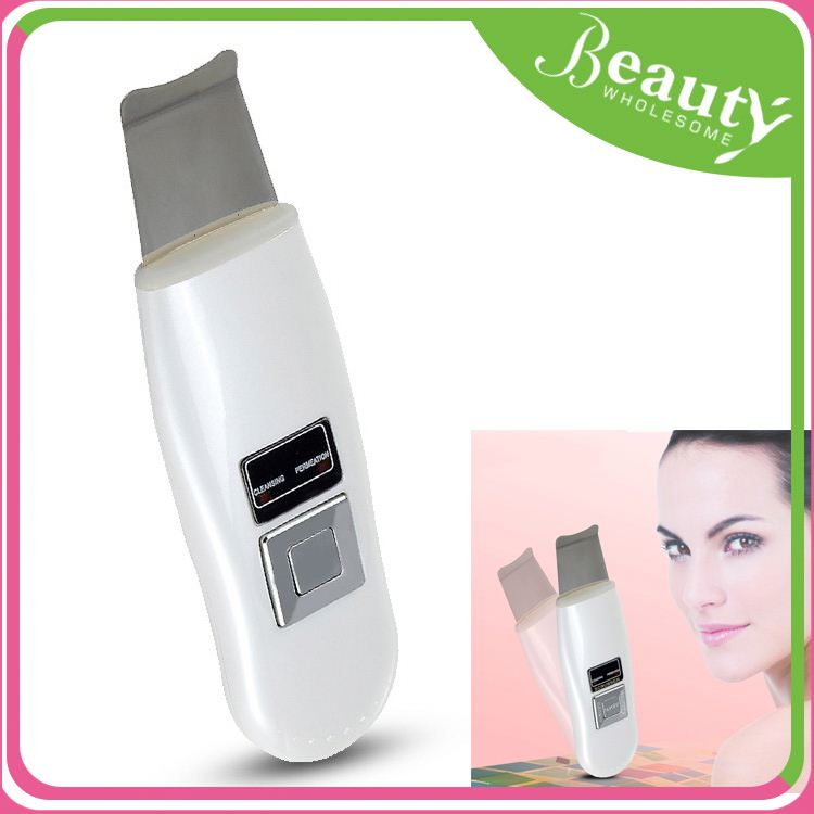 Facial cleaner ultrasonic skin scrubber h0tks ultrasound skin cleaner for sale