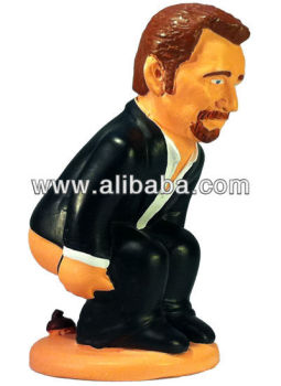 Caganer Johnny Halliday