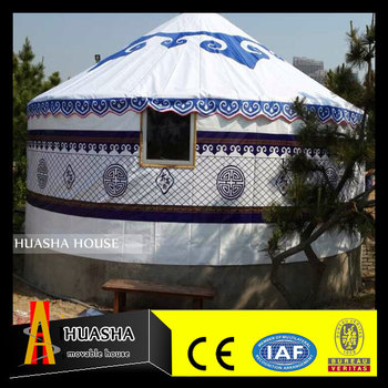 The dome mongolian yurt with national characteristics for living