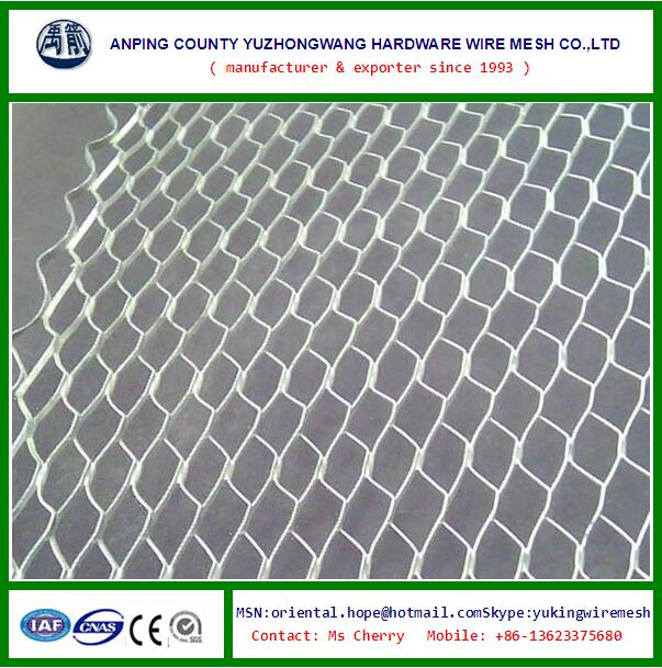 Galvanized diamond expanded metal lath for Ceiling Tile 27''x96''