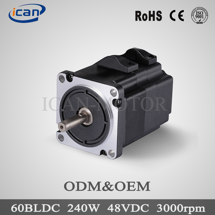 RoHS approached 36v 250w brushless dc motor