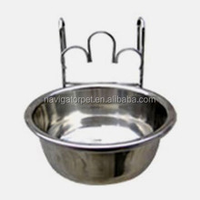 Stainless Steel Single Pet Dog Bowl