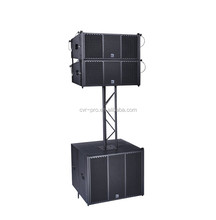 dual 8 inch powered line array speaker