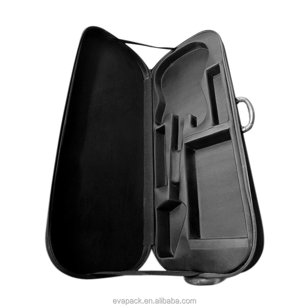 Light EVA double Violin red guitar Case for Sale
