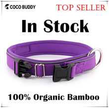 Pet Supplies 100% Organic Bamboo Dog Reflective Collar Top Seller