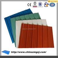 Precoated Galvanized Corrugated Steel Sheet for Roofing